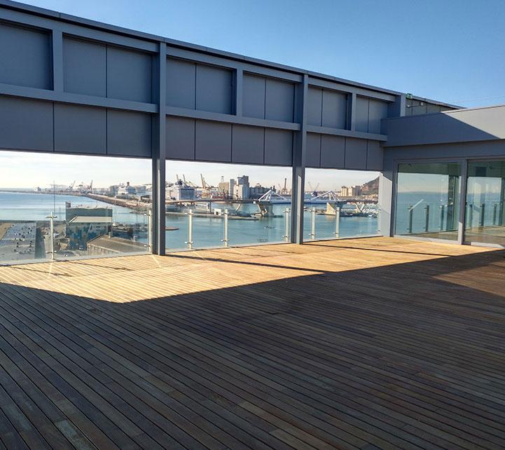 Edificio Ocean terraza oficinas