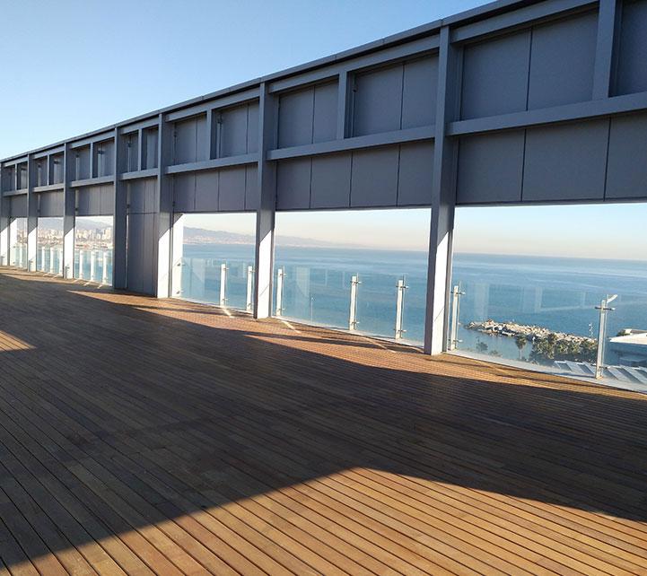 Oficina superior terraza