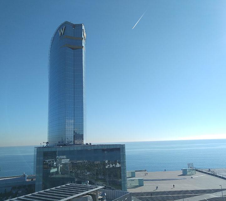 Vista edificio W